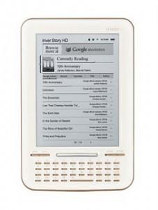 Google eBooks-Integrated iriver Story HD Launching Sunday