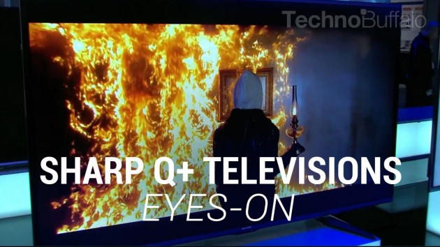 Sharp Q%2B Televisions Eyes-On (Sponsored)