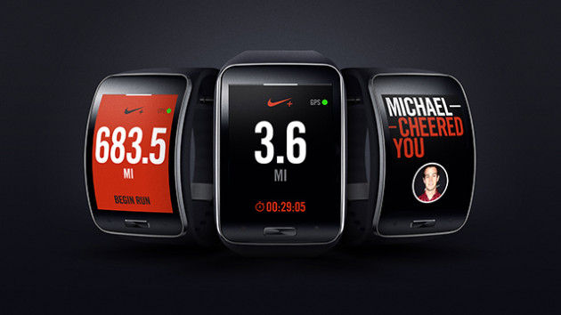 Gear S First to Get Nike%2B Running App